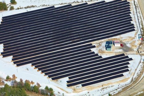 centrale solaire en france