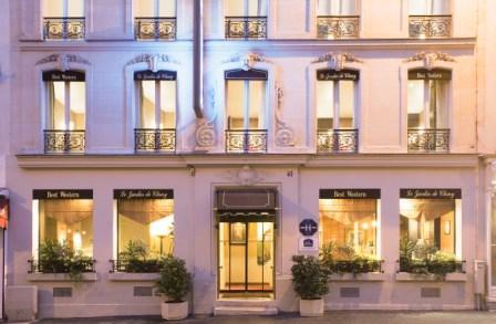 Hotel ecoresponsable paris blog hotels biolodging for Jardin urbain green bar